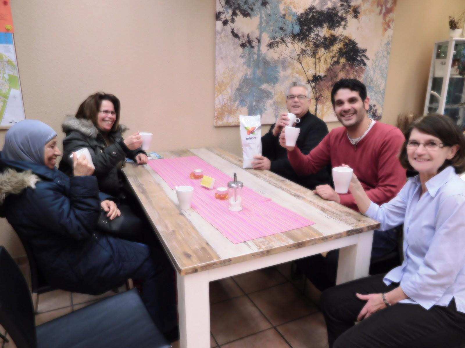 Das Perlacher Herz dankt Maxim Kaffee